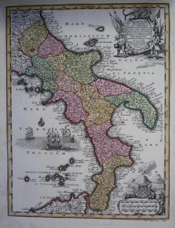 Seutter - Neapolois Regnum
