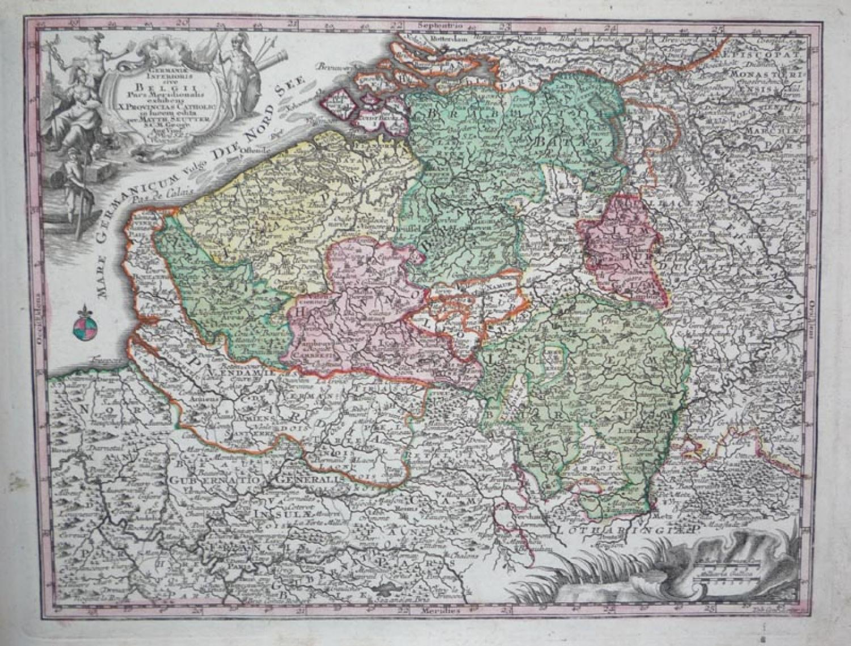 Seutter - Belgii