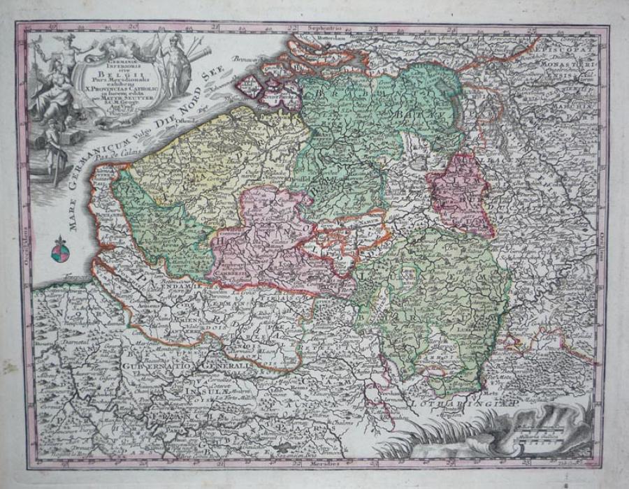 Seutter - Germaniae Inferioris Belgii