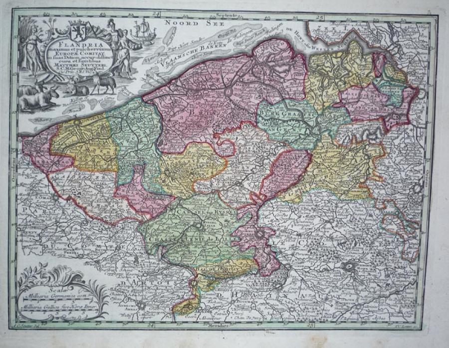 Seutter - Flandria