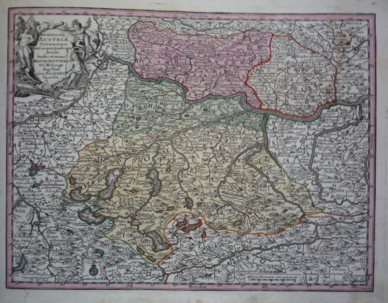 Seutter - Austria Superioris
