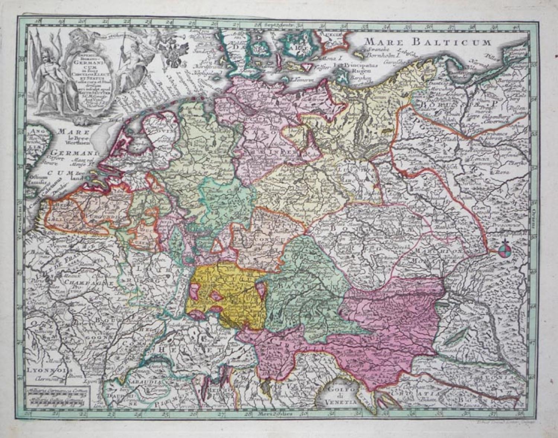 Seutter - Germanicum