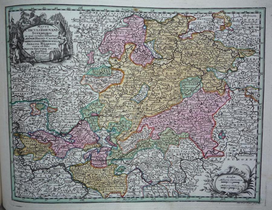 Seutter - Circulirheinae Superior