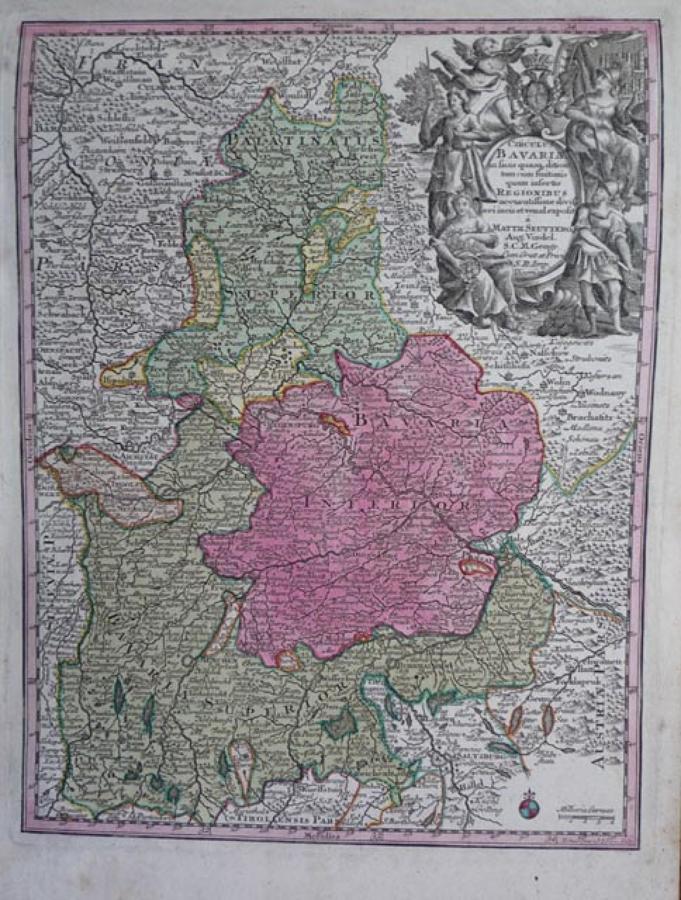 Seutter - Bavaria