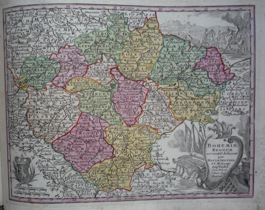 Seutter - Bohemiae Regnum