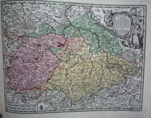 Seutter - Saxoniae Superioris
