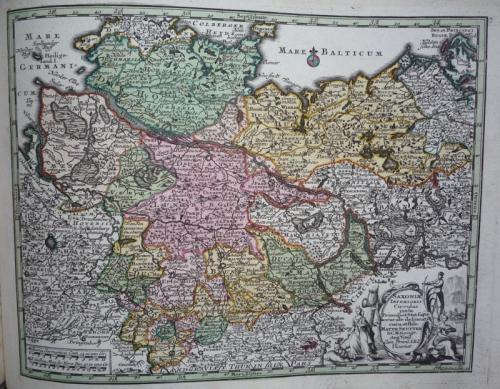 Seutter - Saxoniae Inferioris