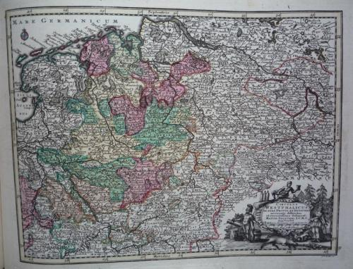 Seutter - Westphalia