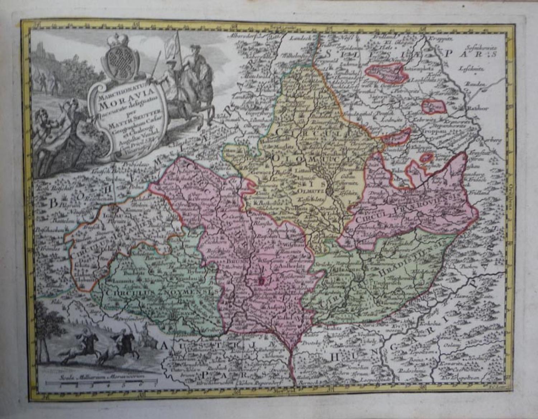 Seutter - Moravia