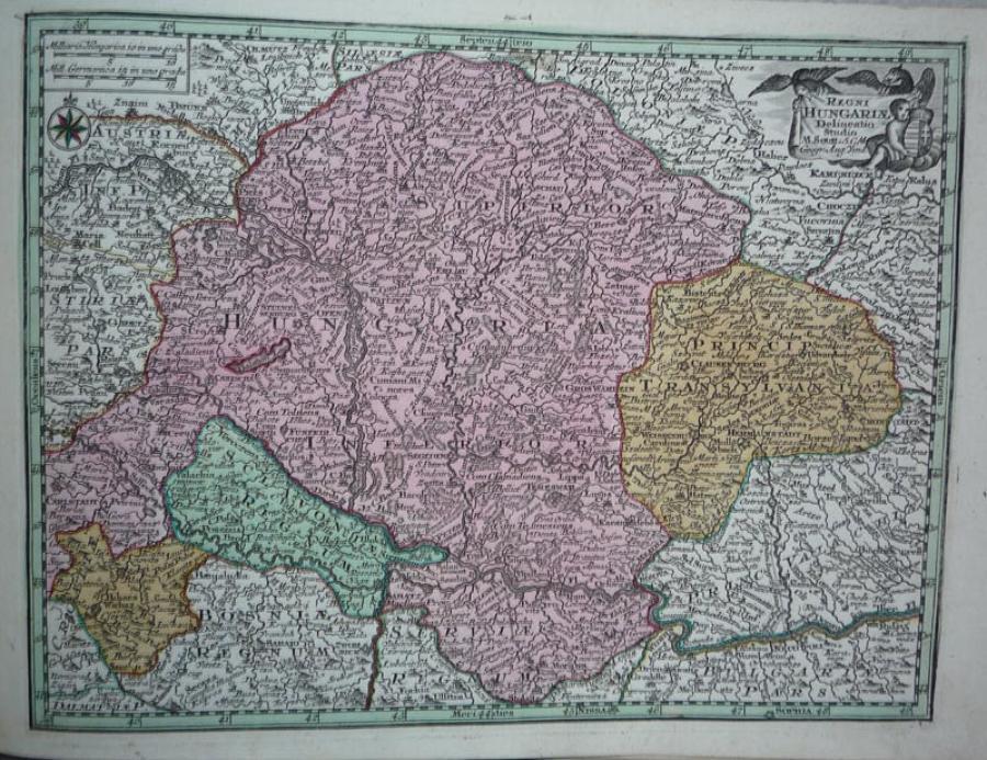 Seutter - Regni Hungariae