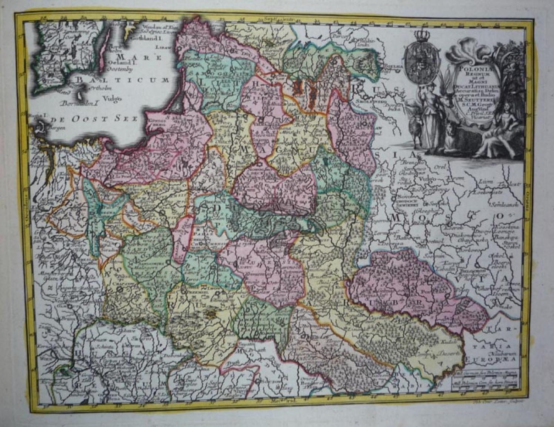 Seutter - Poloniae Regnum