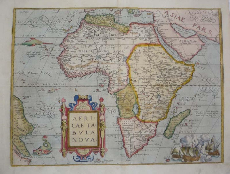SOLD Africae Tabula Nova