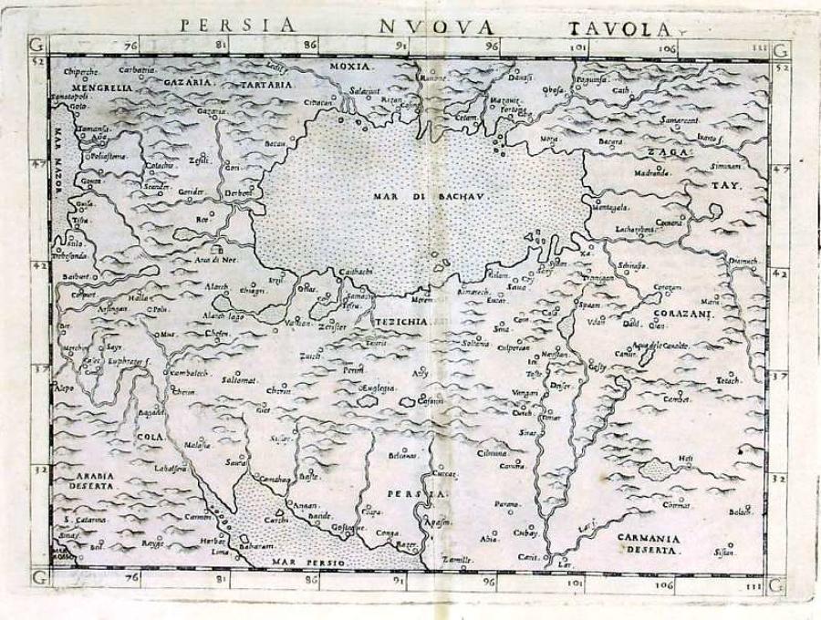 Ruscelli - Persia Nuova Tavola