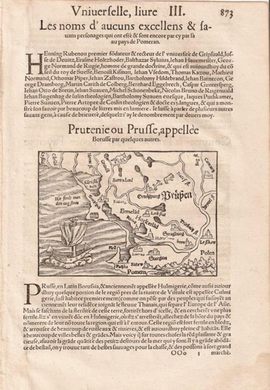 SOLD Prutenie ou Prusse