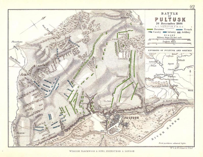 SOLD Battle of Pultusk, 26 December 1806