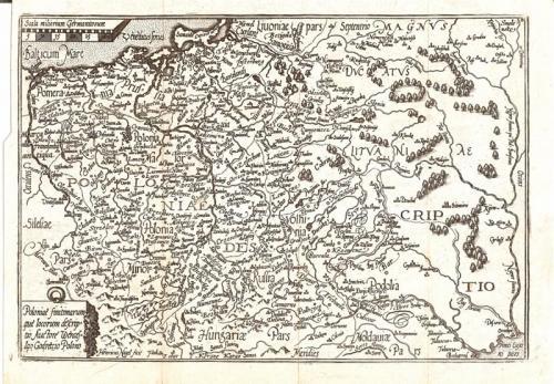 SOLD Poloniae finitimarum que locorum descriptio auctore