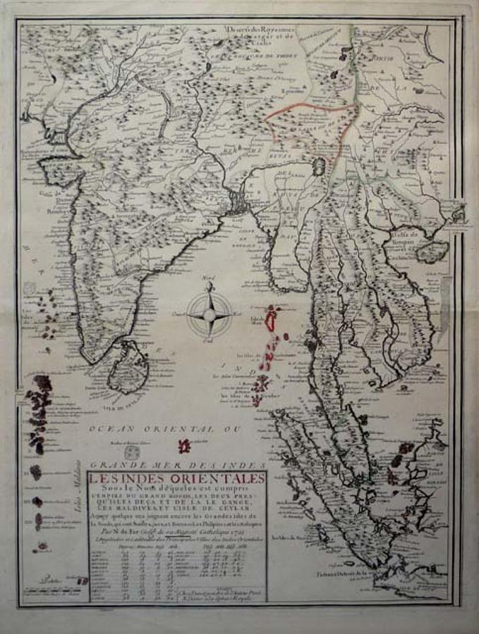 De Fer - Les Indes Orientales ...