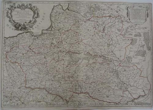 Jaillot - Estats de la Couronne de Pologne