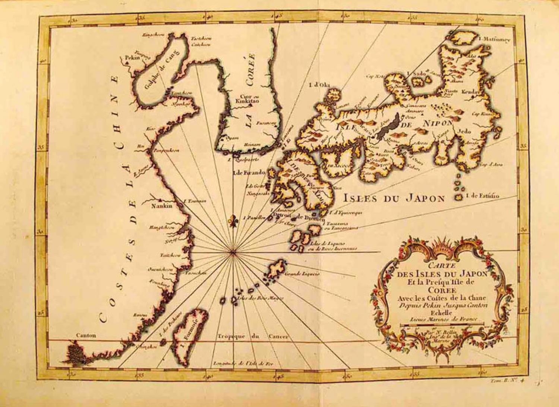 SOLD Carte Des Isles du Japon
