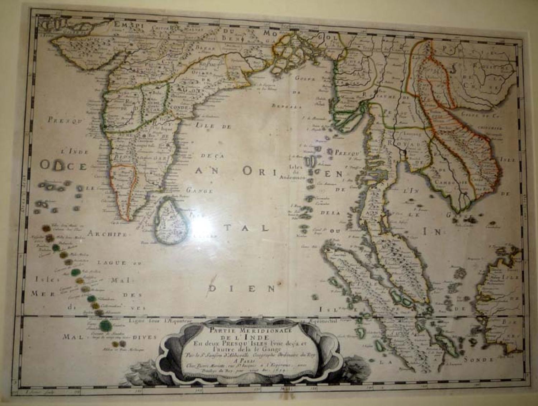 Sanson - Partie Meridionale de l'Inde...