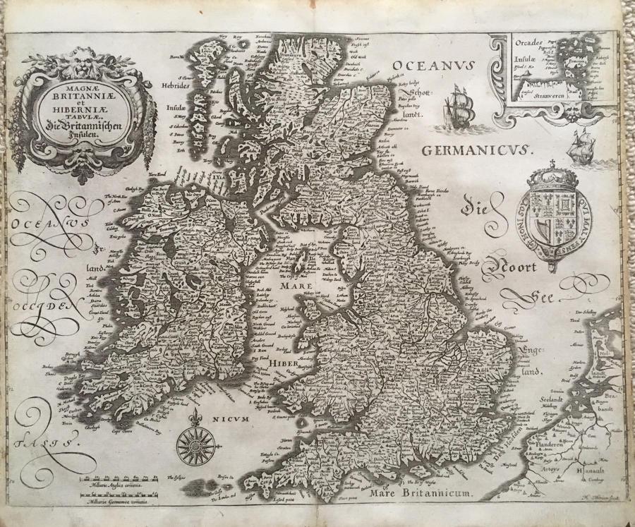 Merian - Magnae Britanniae Hiberniae Tabulae