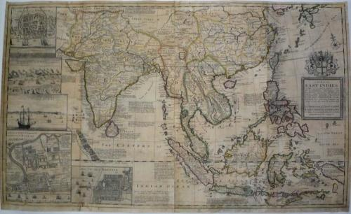 SOLD A Map of the East-Indies and the Adjacent Countries