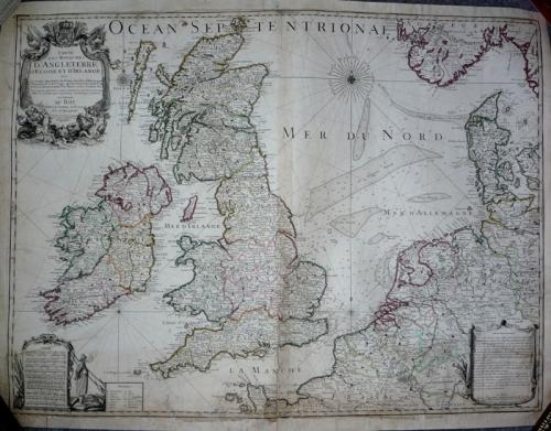 Inselin - Carte Des Royaumes De Angleterre