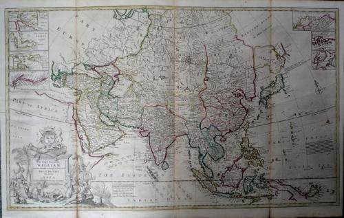 SOLD This Map of Asia ...