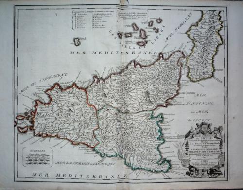 SOLD L Ísle et Royaume De Sicile