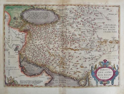 Ortelius - Persici sive Sophorum Regni Typus