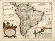 Coronelli / Nolin - L'Amerique Meridionale