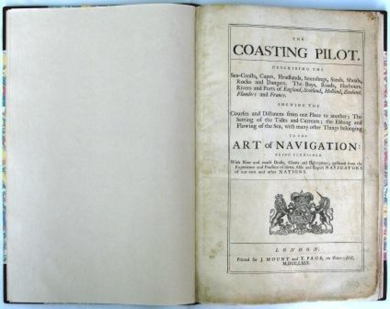SOLD The Coasting Pilot