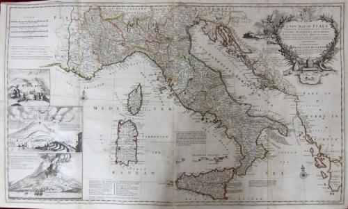 SOLD A New Map of Italy