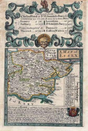 SOLD A Map of Essex