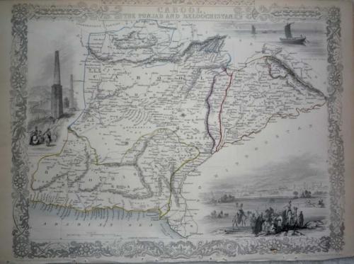 Tallis - Cabool, The Punjab...