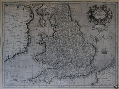 Mercator - Anglia Regnum
