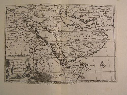 van de AA De Roode Zee met Kusten van Arabien