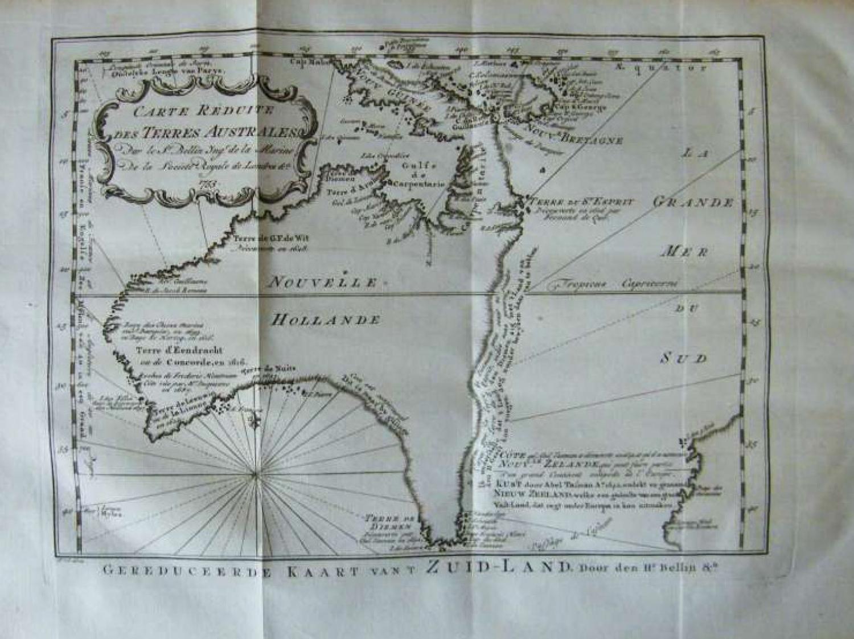 SOLD Carte Réduite des Terres Australes