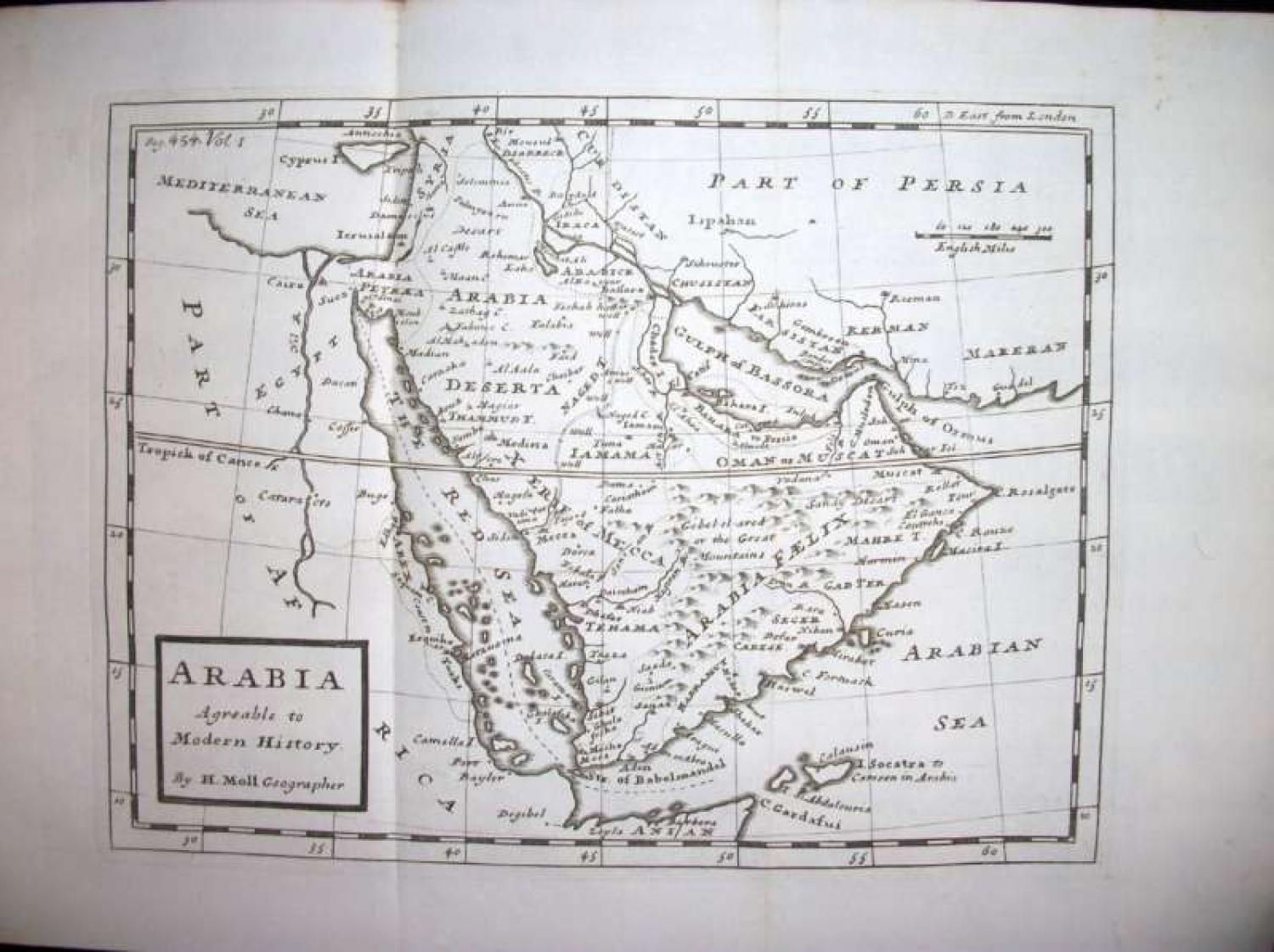 SOLD Arabia Agreeable to Modern History