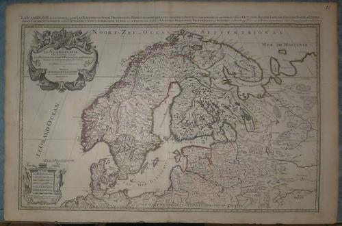 Jaillot - La Scandinavie et les Environs