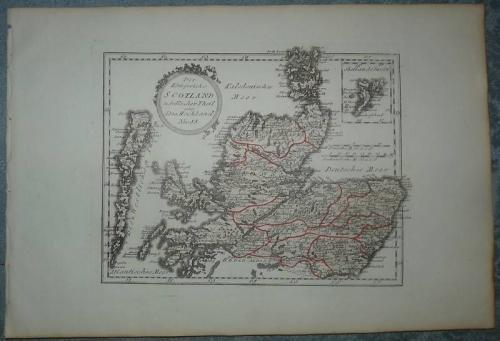 Das Königreich Scotland nordlicher Theil oder Das Hochland.