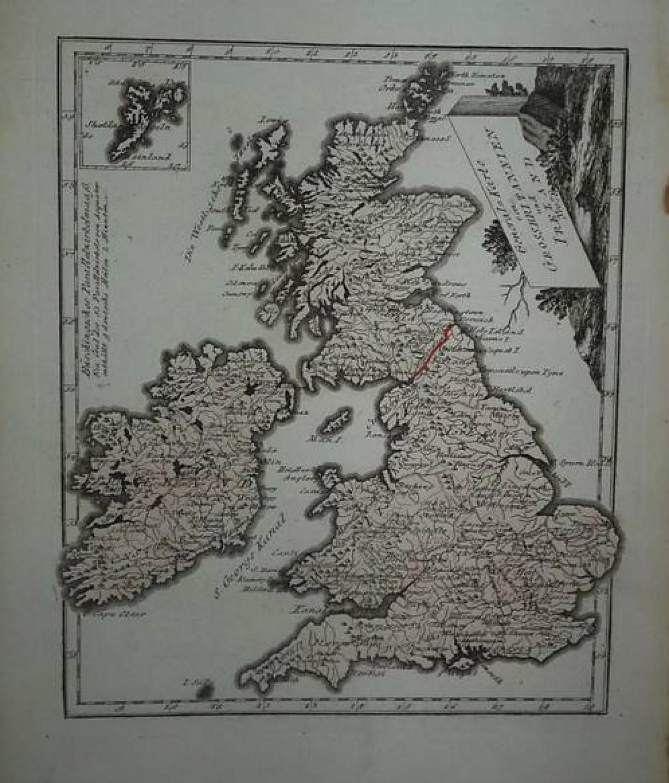 Reilly -Karte von Grossbritannien und Ireland