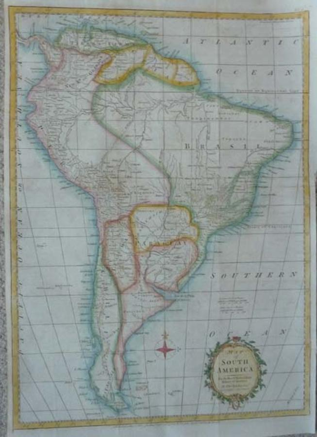 Kitchin - A Map Of South America