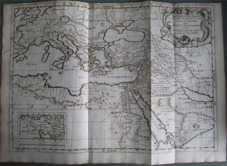Sanson -Geographiae Sacrae ex Novo Testamento
