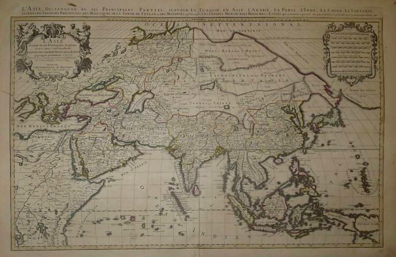 SOLD L'Asie divisée en ses Principales Regions
