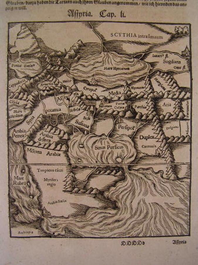 Munster - von den Landern Asie- Assyria