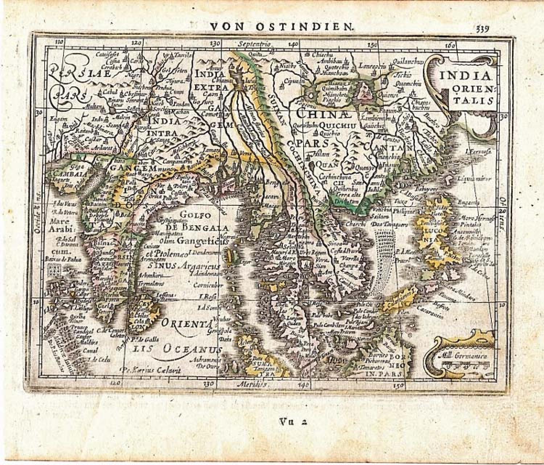 Mercator / Jansson - India Orientalis