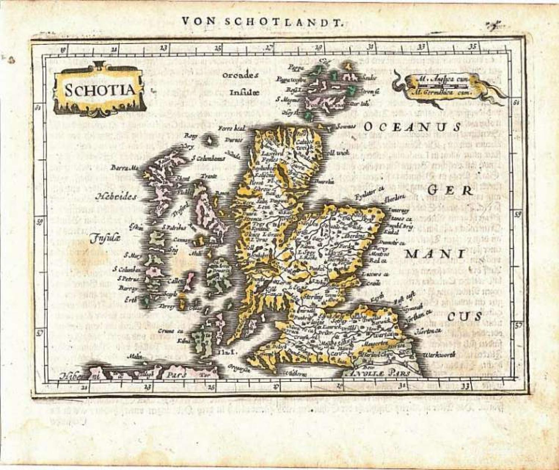 Mercator / Jansson - Schotia