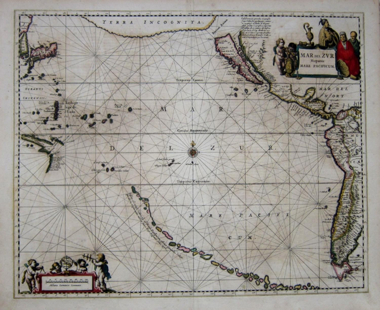 Jansson - Mar Del Zur Hispanis Mare Pacificum