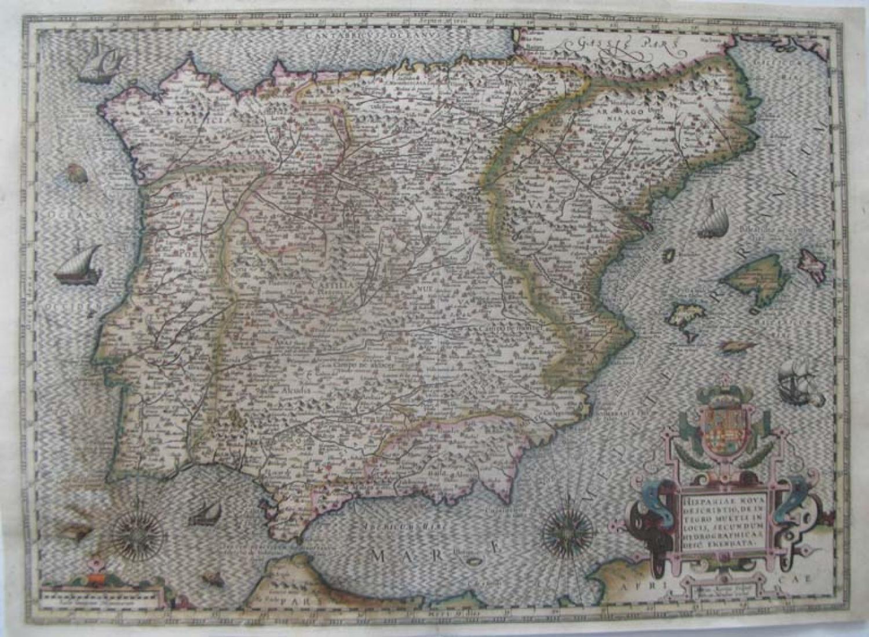 SOLD Hispaniae Nova Describtio